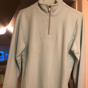 Tommy Bahama zip neck sweatshirt.